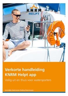 Communicatie KNRM Helpt App