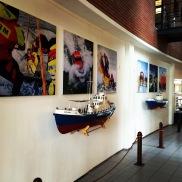 Indoor signing hoofdkantoor IJmuiden